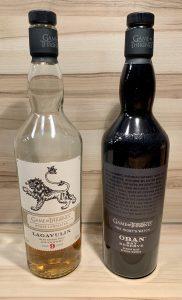 Die Kontrahenten in der Flasche