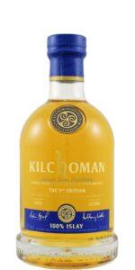 Eine Flasche Kilchoman 100% Islay 9th Edition