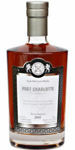 Eine Flasche Port Charlotte 2001 von Malts of Scotland