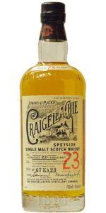 Eine Flasche Craigellachie 23