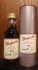Eine offizielles Sample des Glenfarclas 40-year-old