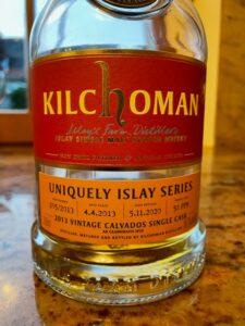 Eine Flasche Kilchoman 2013 Uniquely Islay