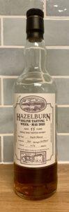 Eine Flasche Hazelburn 15-year-old für die Online Tasting Week 2021