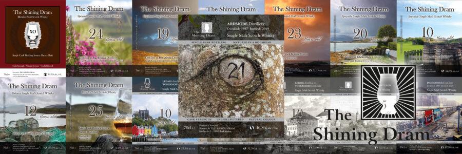 Labels von The Shining Dram